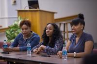 Panelists include: Kaira Cooper, Tiffany Bender, Shanice Renee